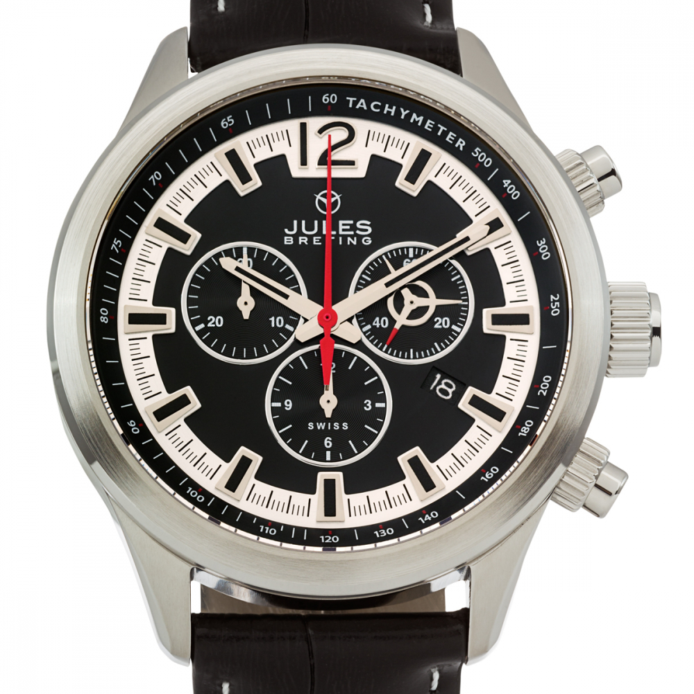 Jules Breting Nostromo Mens Swiss Chronograph Watch at PristineAuction.com