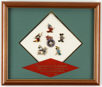 Vintage Disney 11.5x13.5 Custom Framed Pin Set Display at PristineAuction.com