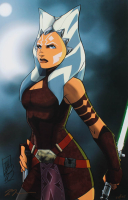 "Tom Hodges - Ahsoka Tano - ""Star Wars: The Clone Wars"" - Signed 11"" x 17"" Print LE #/25 (PA COA) at PristineAuction.com"