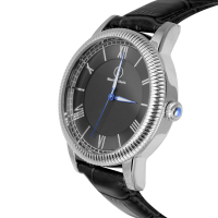 Maurice Eberle Silver Case Men's Watch at PristineAuction.com