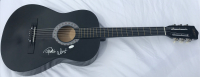 Cheech Marin & Tommy Chong Signed Acoustic Guitar (JSA COA) at PristineAuction.com