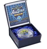 Patrick Kane Signed 2020 All-Star Game-Used Ice Crystal Puck (Fanatics Hologram) at PristineAuction.com
