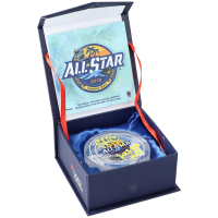 Brock Boeser Signed 2018 All-Star Game-Used Ice Crystal Puck (Fanatics Hologram) at PristineAuction.com