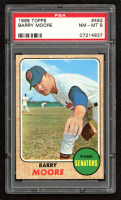 Barry Moore 1968 Topps #462 (PSA 8) at PristineAuction.com