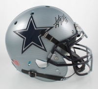 Leighton Vander Esch Signed Full-Size Authentic On-Field Hydro-Dipped Helmet (Beckett COA) at PristineAuction.com