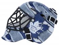 "Grant Fuhr Signed Maple Leafs Mini Goalie Mask Inscribed ""HOF 03"" (Fanatics Hologram) at PristineAuction.com"