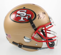 Nick Bosa Signed Full-Size Authentic On-Field Hydro-Dipped Helmet (Beckett COA) at PristineAuction.com