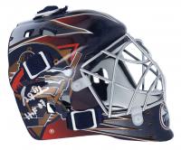 "Grant Fuhr Signed Oilers Mini Goalie Mask Inscribed ""HOF 03"" (Fanatics Hologram) at PristineAuction.com"