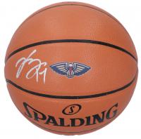 Brandon Ingram Signed Pelicans Logo Basketball (Fanatics Hologram) at PristineAuction.com