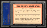 Larry Hisle / Barry Lersch 1969 Topps #206 Rookie Stars RC (PSA 8) at PristineAuction.com