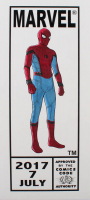 "Tom Hodges - Spider-Man - ""Spider-Man: Homecoming"" - Marvel Comics - ""Corner Box"" - ORIGINAL 7.5"" x 17"" Drawing on Paper (1/1) at PristineAuction.com"