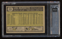 Lou Burdette 1961 Topps #320 (GAI 7) at PristineAuction.com