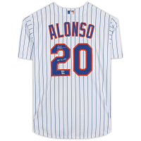 """Pete Alonso Signed Mets Jersey Inscribed """"2019 NL ROY"""" (Fanatics Hologram) at PristineAuction.com"""
