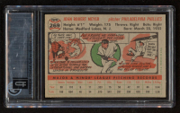 Jack Meyer 1956 Topps #269 RC (GAI 6) at PristineAuction.com