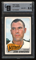 Jim Owens 1965 Topps #451 (GAI 8.5) at PristineAuction.com