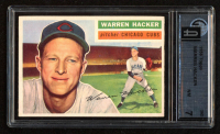 Warren Hacker 1956 Topps #282 (GAI 7) at PristineAuction.com