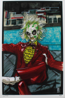 "Tom Hodges - Beetlejuice - Signed 11"" x 17"" Print AP #/5 (PA COA) at PristineAuction.com"