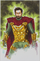 "Tom Hodges - Mysterio - Marvel Comics - Signed ORIGINAL 11"" x 17"" Drawing on Paper (1/1) at PristineAuction.com"