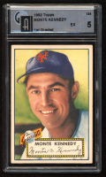 Monte Kennedy 1952 Topps #124 (GAI 5) at PristineAuction.com