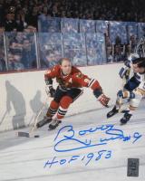 "Bobby Hull Signed Blackhawks 8x10 Photo Inscribed ""HOF 1983"" (Hull Hologram) at PristineAuction.com"