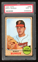 Wally Bunker 1968 Topps #489 (PSA 9) at PristineAuction.com