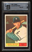 Chuck Cottier 1961 Topps #13 (GAI 8) at PristineAuction.com