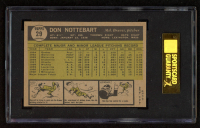 Don Nottebart 1961 Topps #29 (SGC 8.5) at PristineAuction.com