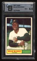 Willie McCovey 1961 Topps #517 (GAI 5.5) at PristineAuction.com