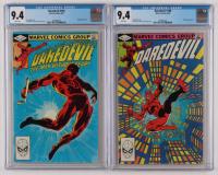 "Lot of (2) CGC Graded ""DareDevil"" Marvel Comic Books with 1982 DareDevil #185 (CGC 9.4) & 1982 DareDevil #186 (CGC 9.4) at PristineAuction.com"