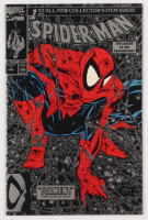 "1990 ""Spiderman"" Issue #1 Marvel Silver First Issue Comic Book at PristineAuction.com"
