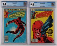 "Lot of (2) CGC Graded ""DareDevil"" Marvel Comic Books with 1982 DareDevil #184 (CGC 9.4) & 1982 DareDevil #185 (CGC 9.4) at PristineAuction.com"