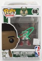 Giannis Antetokounmpo Signed Bucks #68 Funko Pop! Vinyl Figure (JSA COA) at PristineAuction.com