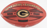 "Bart Starr Signed Packers Super Bowl I Champions Official ""The Duke"" NFL Football Inscribed ""MVP SB I"" (JSA LOA & Fanatics Hologram) at PristineAuction.com"
