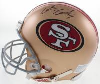 Colin Kaepernick Signed 49ers Full-Size Authentic On-Field Helmet (JSA COA) at PristineAuction.com