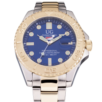 Ulysse Girard Shark Men's Stainless Steel Sport Diver Watch at PristineAuction.com