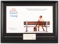"""Tom Hanks Signed """"Forrest Gump"""" 15x20 Custom Framed Cut Display (PSA COA) at PristineAuction.com"""