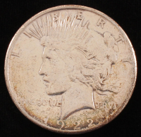 1922-S $1 Peace Silver Dollar at PristineAuction.com