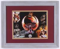 Manny Pacquiao Signed 13.5x16.5 Custom Framed Photo Display (PSA COA) at PristineAuction.com