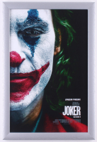 """Joker"" 12.5x18.5 Custom Framed Movie Poster Display at PristineAuction.com"