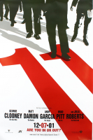 """""""Ocean's 11"""" 27x40 Movie Poster at PristineAuction.com"""