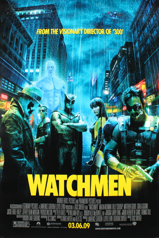 """""""Watchmen"""" 27x40 Movie Poster at PristineAuction.com"""