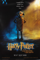 """""""Harry Potter & the Chamber of Secrets"""" 27x40 Special Edition Dobby Teaser Movie Poster at PristineAuction.com"""