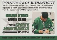 Jamie Benn Signed Stars Captain's Jersey (Benn COA) at PristineAuction.com