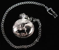 Rousseau Pocket Watch Eagle at PristineAuction.com