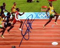 Usain Bolt Signed Team Jamaica 8x10 Photo (JSA COA) at PristineAuction.com