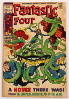 "Vintage 1969 ""Fantastic Four"" Vol. 1 Issue #88 Marvel Comic Book at PristineAuction.com"