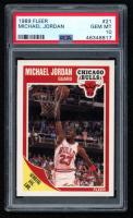 Michael Jordan 1989-90 Fleer #21 (PSA 10) at PristineAuction.com