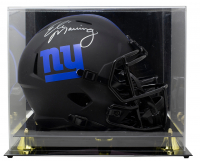 Eli Manning Signed Giants Full-Size Eclipse Alternate Speed Helmet with Display Case (Fanatics Hologram) at PristineAuction.com