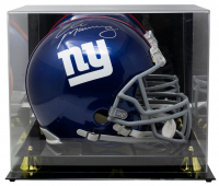 Eli Manning Signed Giants Full-Size Authentic On-Field Helmet with Display Case (Fanatics Hologram) at PristineAuction.com