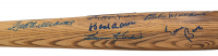 500 Home Run Club Rawlings Adirondack Baseball Bat Signed by (9) with Ted Williams, Frank Robinson, Reggie Jackson, Willie Mays, Ernie Banks (Beckett LOA) at PristineAuction.com